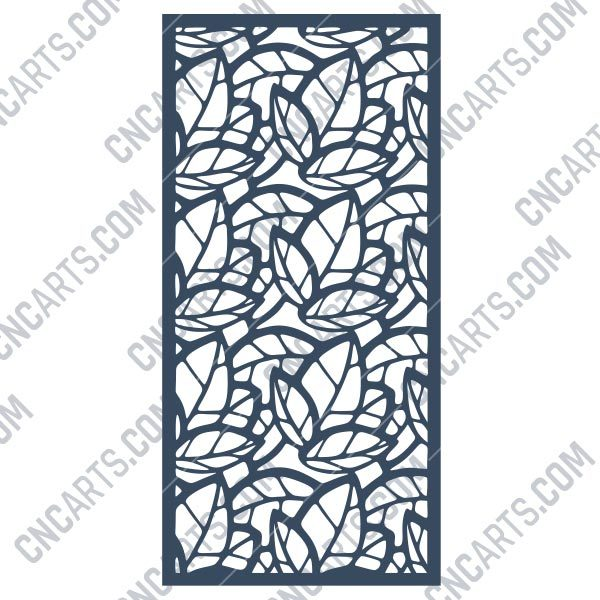 Pattern panel screen Design files - EPS AI SVG DXF CDR