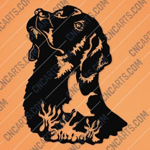 Engraving Dog Vector Design file - EPS AI SVG DXF CDR