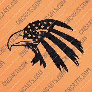 American Eagle Design files P0227 - DXF SVG EPS AI CDR